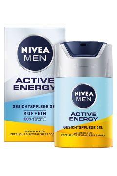 Men Active Energy energetyzujący krem-żel do twarzy z kofeiną