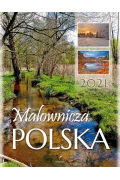 Kalendarz 2021 Ścienny Malownicza Polska