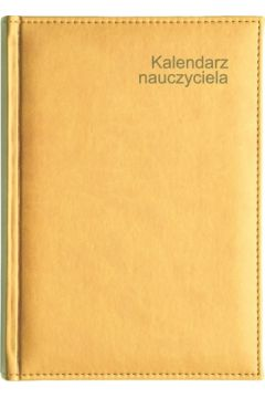 Kalendarz Nauczyciela A5 2020/2021 Vivella żółty