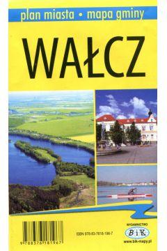 Wałcz Plan miasta Mapa gminy