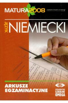 Arkusze egzaminacyjne język niemiecki 2008 matura
