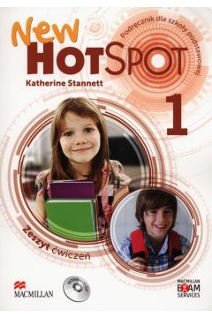 New Hot Spot 1. Zeszyt ćwiczeń. Język angielski. Szkoła podstawowa
