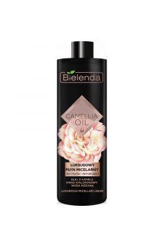 Camellia Oil luksusowy płyn micelarny do mycia i demakijażu twarzy