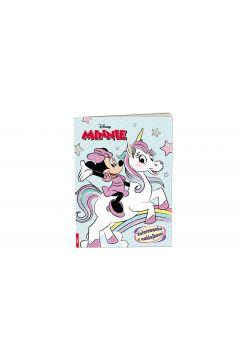Minnie. Kolorowanka z naklejkami
