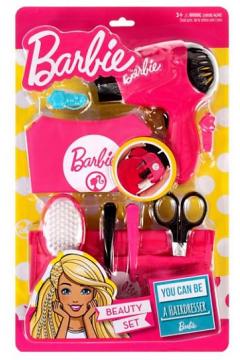 Barbie. Zestaw fryzjera