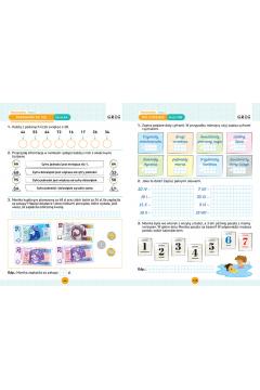 Matematyka. Karty pracy w szkole i w domu. Klasa 2
