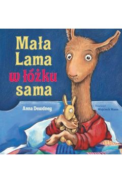 Mała Lama w łóżku sama
