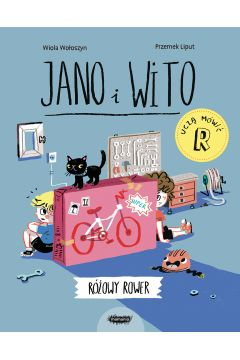 Jano i Wito uczą mówić. Różowy rower