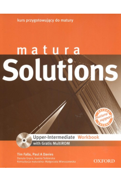 Język angielski LO Matura Solutions Upper-Intermediate Workbook-ćwiczenia