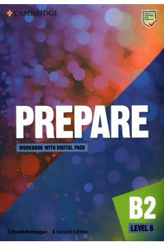 Prepare Level 6 Workbook with Digital Pack