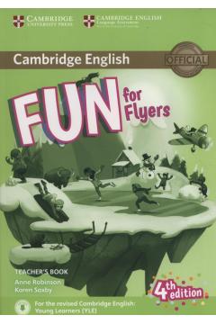 Fun for Flyers Teacher`s Book + Downloadable Audio