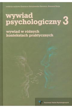 Wywiad psychologiczny 3