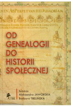 Od genealogii do historii społecznej