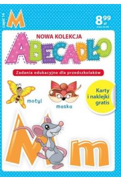 ABECADŁO Zadania edukacyjne dla przedszkolaków - literka M. Część 14