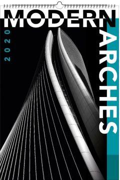 Kalendarz 2020 Wieloplanszowy Modern arches