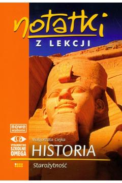 Notatki z lekcji Historia i Starożytność