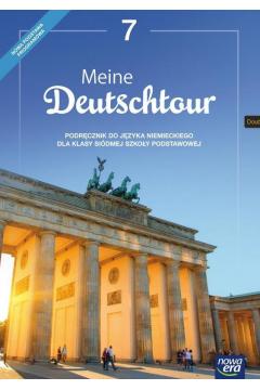 Meine Deutschtour 7. Język niemiecki. Podręcznik. Szkoła podstawowa
