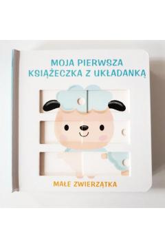 Moja książeczka z układanką - Małe zwierzątka