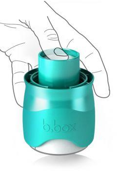 Butelka dla niemowląt z dozownikiem 240 ml zielona