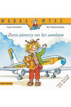 Mądra mysz - Zuzia pierwszy raz leci samolotem