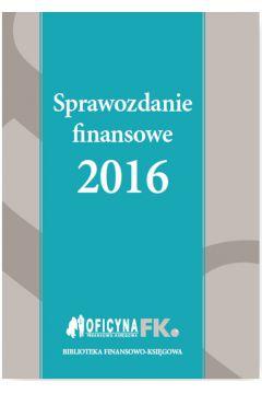 Sprawozdanie finansowe 2016