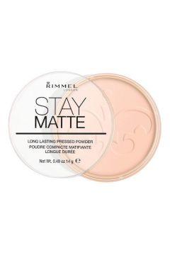 RIMMEL_Stay Matte Long Lasting Pressed Powder puder prasowany 002 Pink Blossom