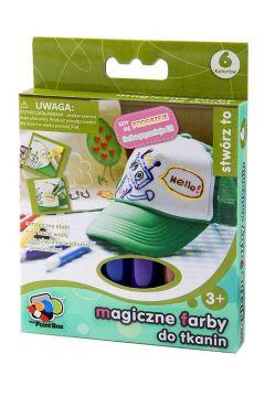 Magiczne farby do tkanin 6 kolorów