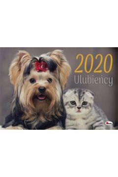 Kalendarz ścienny Ulubieńcy 2020