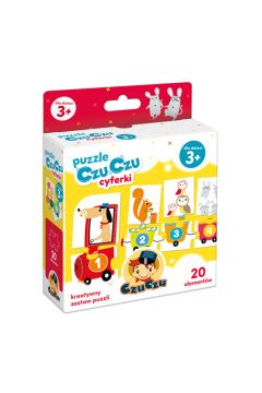 Puzzle CzuCzu Cyferki 3+