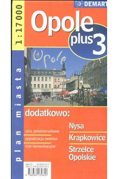 Opole plus 3 1:17 000 plan miasta