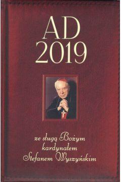 Kalendarz AD 2019 ze sługą Bożym kardynałem Stefanem Wyszyńskim