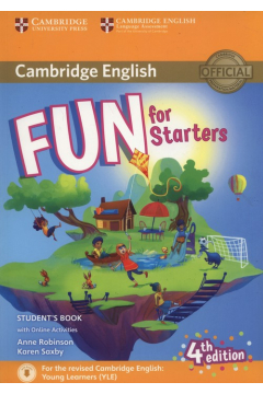 Fun for Starters. Student`s Book with Audio with Online Activities