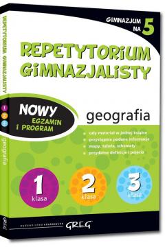 Repetytorium gimnazjalisty. Geografia. 2019