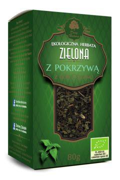 Herbata zielona z pokrzywą