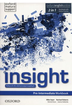 Insight Pre-Intermediate. Workbook with Online Practice
