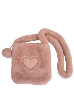 Torebka króliczek Missimo z sercem brzoskwiniowy róż 22x23 13553 BEPPE