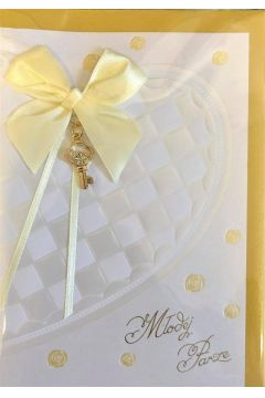 Karnet ślubny B6 Premium 54 + koperta