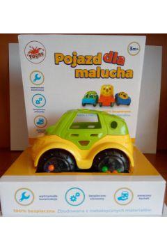 Pojazd dla malucha żółty