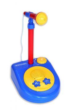 Mikrofon ze statywem z efektami dźwiękowymi