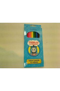 Kredki ołówkowe 12 kolorów Tomek i przyjaciele