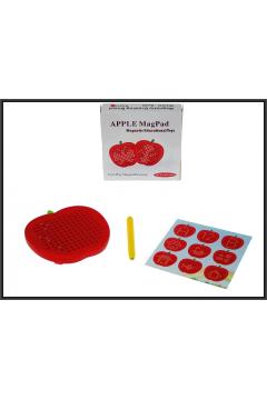 Tablica magnetyczna jabłko kulki 12x12x2,4cm