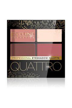 EVELINE_Quattro Professional Eyshadow Palette paleta 4 cieni do powiek