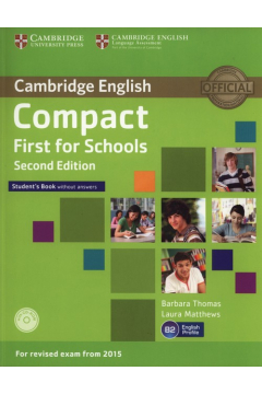 Compact First for Schools Student's Book + CD