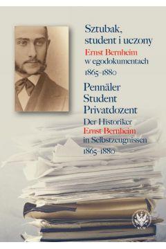 Sztubak, student i uczony / Pennäler - Student - Privatdozent