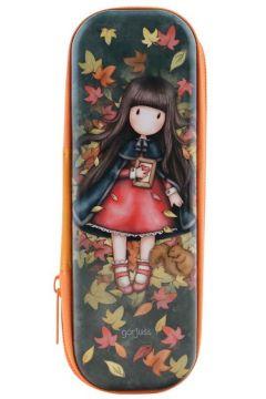 Blaszany piórnik na suwak - Autumn Leaves