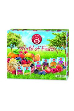 Zestaw herbat owocowych World of fruits collection