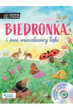 Biedronka i inni mieszkańcy łąki. Książka z płytą CD
