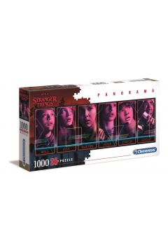 Puzzle 1000 Panorama Netlix Stanger Things