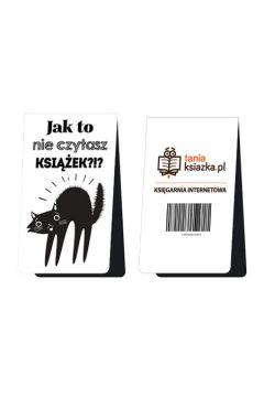 Magnetyczna zakładka do książki - Jak to nie czytasz książek?!?