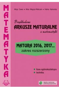 Matematyka Przykładowe Arkusze Maturalne ZR
